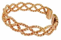 Womens Chloe Copper Magnetic Bracelet