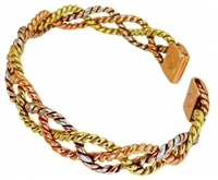 Womens Delia Copper Magnetic Bracelet
