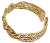 Womens Dina Copper Magnetic Bracelet