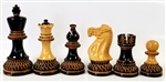 "3"" Burnt Chess Pieces"