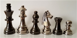 "3"" Metal Chess Pieces"