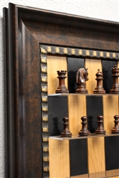 Black Cherry Series with Checkered Bronze Frame