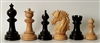 "3"" Camelin Ebony wood Chess Pieces"