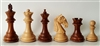 "3"" Columbian Golden Rosewood Chess Pieces"