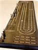 Large Peg, Long Cribbage Board