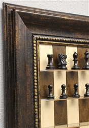Maple Nut Series with Antique Bronze Frame