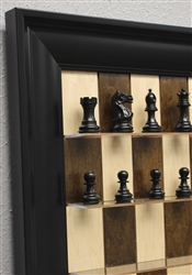 Maple Nut Series with Black Contemporary Frame