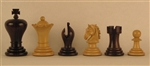 "3"" Midget Chess Pieces, Rosewood"