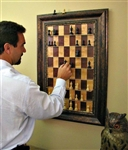Straight Up Chess - Vertical Chess boards