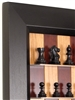 "3"" Red Cherry Board with Flat Black frame and Supreme Chess Pieces"
