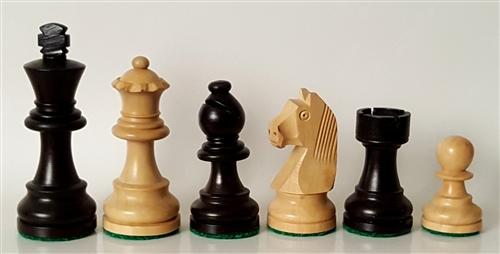 Chess pieces on vertical Straight Up Chess board