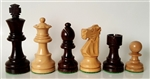"3"" French Rosewood Chess Pieces"