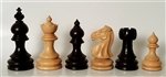"3"" Rosewood Taj Mahal Chess Pieces"