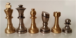 "2.5"" Small Brass Set (Italfama)"