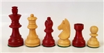 "2.5"" Small Red Chess Pieces"