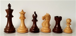 "3"" Supreme Chess Pieces, Rosewood"
