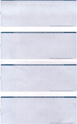 Blue Value Single-Color Legal Business Checks - 4 Checks per Page (1 Box - 1,000 Checks)