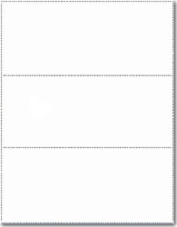 Multi Purpose / Deposit Paper - 2 Perfs (1 Box - 1,000 Sheets)