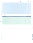 Pressure Seal Z-Fold Check Paper 8.5 X 11  (1 Box - 1,000 Checks)