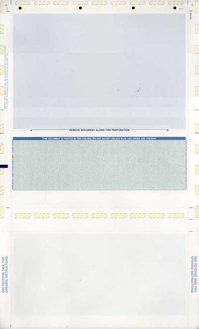 Docucheck Paper 8.5 X 11 1,000 Pressure Seal Checks Prismatic