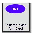 Compact Font Card