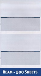 Value Single-Color Legal Voucher - 2 Checks / 2 Stubs per Page (1 Ream - 500 Checks)