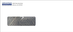 #9 Printed Single Window Envelope Full Color Ink