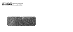 #9 Printed Single Window Envelope Black Ink