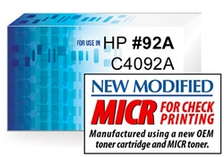 Premium MICR Toner Cartridge for HP LaserJet 1100