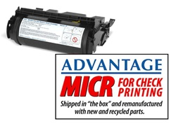 Advantage Dell 5200n/M5200/M5300 MICR Toner Cartridge