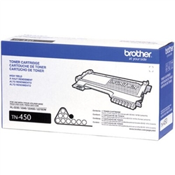 Genuine Brother TN450 High Yield Toner Cartridge