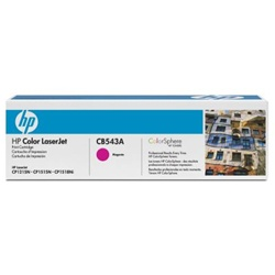 HP CB543A LASER CARTRIDGE  MAGENTA