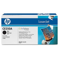HP CE250A BLACK TONER  5000 PAGE-YIELD
