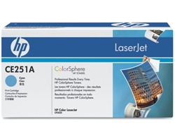 HP CE251A CYAN TONER  7000 PAGE-YIELD