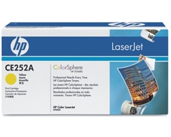 HP CE252A YELLOW TONER  7000 PAGE-YIELD