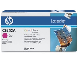 HP CE253A MAGENTA TONER  7000 PAGE-YIELD