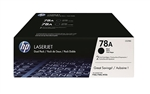 Genuine CE278A Toner Cartridge 2 Pack for HP P1606dn - New