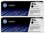 Genuine CE285A Toner Cartridge 2 Pack for P1102W - New