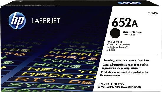 4-Pack Black M680F Free 1 to 2 Day DELIVERY 653X M680DN; Color LJ Enterprise Flow MFP M680z QSD Compatible Toner Replacement for HP CF320X Works with: Color Laserjet Enterprise MFP M680Z