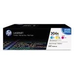 Genuine HP CP2025/CM2320 Tri Pack Toner CE340A