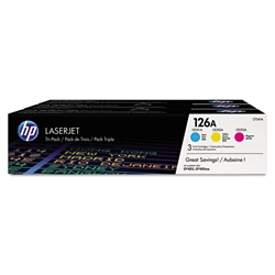 Genuine HP CP1025nw / M175nw MFP Tri-Pack Toner CF341A