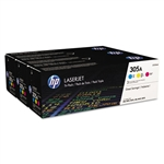 Genuine HP M451dn / MFP M475dn CF370AM Tri-Pack Toner Cartridge