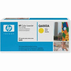 Genuine HP 1600/2600 Yellow Smart Cartridge Q6002A