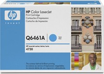 Genuine HP 4730mfp Cyan ColorSphere Smart Print Cartridge Q6461A