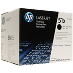 Genuine Q7551XD Dual Pack Toner Cartridge - New