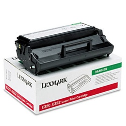 Genuine Lexmark E320/E322 High Yield Return Program Toner Cartridge - 08A0478