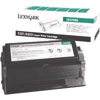 Genuine Lexmark E321/323 Return Program Toner Cartridge - 12A7400