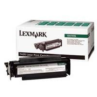 Genuine Lexmark T420 High Yield Return Program Toner Cartridge - 12A7415