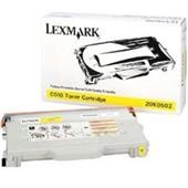 Genuine Lexmark C510 Yellow Toner Cartridge - 20K0502