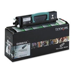 Genuine Lexmark E450DN Return Program Toner Cartridge - E450A11A